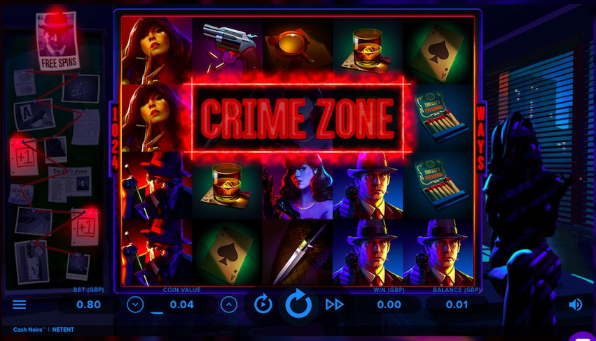 Crime Zone Slot by NetEnt