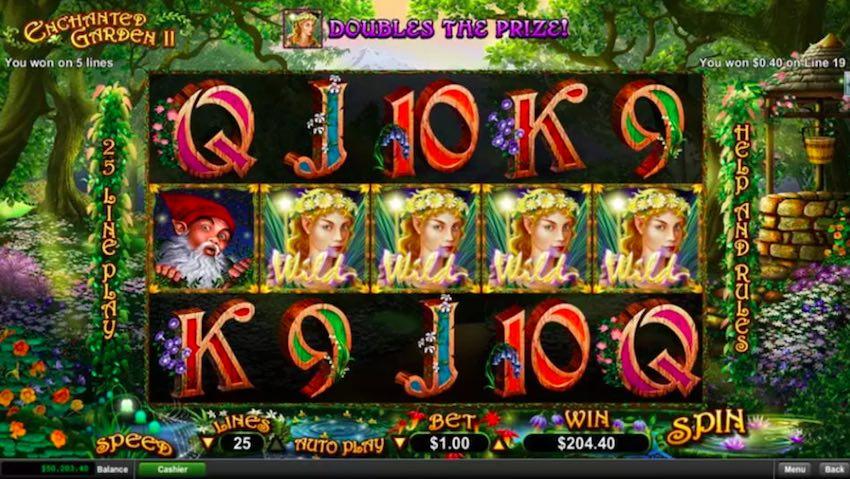 Enchanted Garden 2 Slot Game