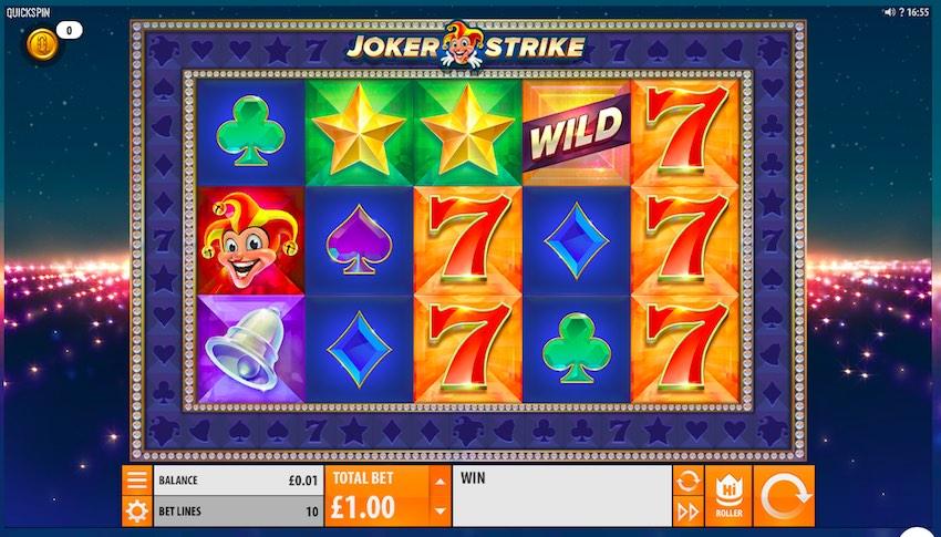Joker Strike by Quickspin