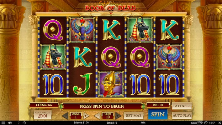Book of Dead Egyptian-Themed Slot